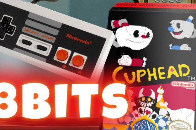 Cuphead Nintendo 8bits! (If was made for NES Trailer Project)