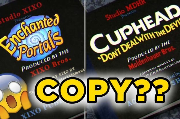 Enchanted Portals New Trailer Copy CUPHEAD? Take your own conclusions!