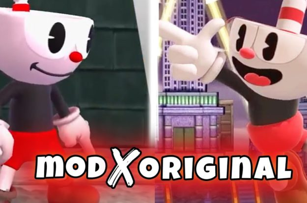 Super Smash Bros Ultimate – Cuphead Reveal X MOD   Definitive Comparation! Take your own conclusions