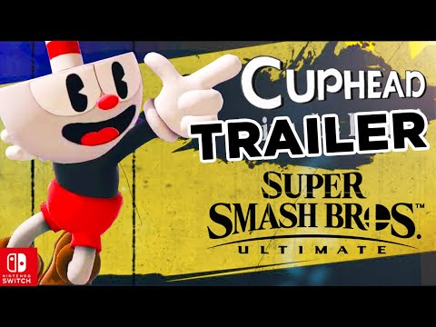 Super Smash Bros Ultimate – Cuphead Reveal | COMPLETE Leaked New Trailer