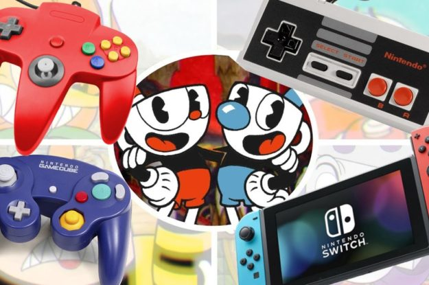 Evolution of Cuphead 1989-2019 Through video game generations! Comparing all versions! NES to SWITCH