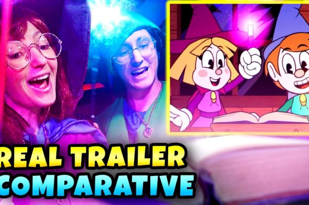 Enchanted Portals: Comparative Official Live Action Trailer Leaked. This game do not Copy CUPHEAD