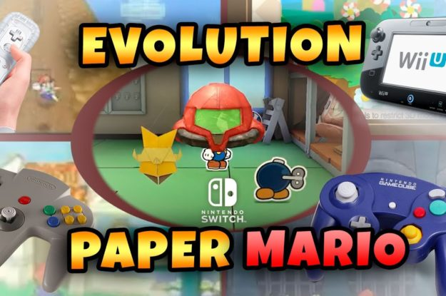 Paper Mario: The Origami King N64 x Nintendo Switch! All trailers Definitive comparison