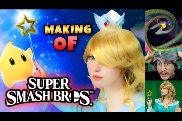 Super Smash Bros: Real Live Action Making Of | Nintendo Fan Film | MAKING OFF e Visual Effects!