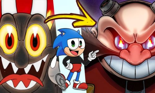 Cuphead or Sonic!? Cup sonic the hedgehog DLC IN CUPHEAD Trailer